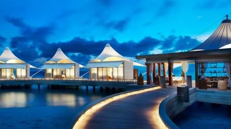 Maldives beach honeymoon