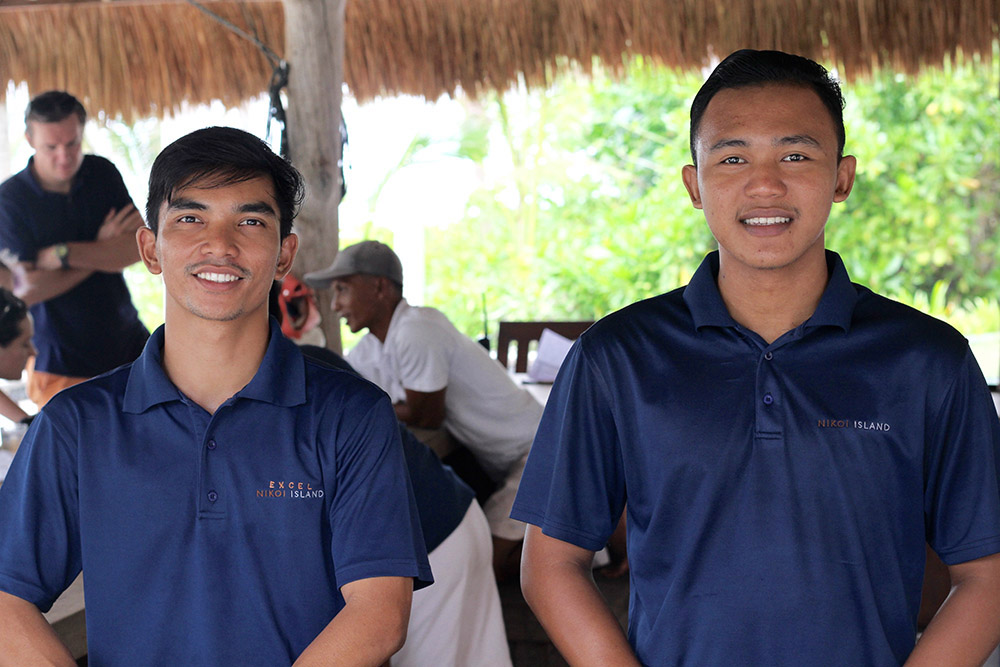 nikoi island's staff