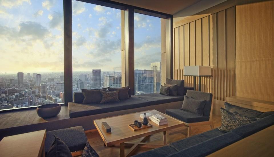 tokyo hotels - Aman Tokyo - Hospitality