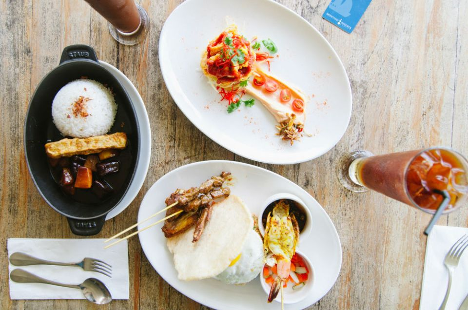 Montigo Resorts Nongsa Batam food