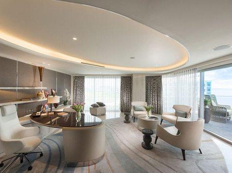 Conrad Hotel Presidential Suite Master Study