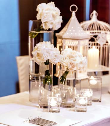 Renaissance johor bahru classy hotel banquet weddings at a up for a wedding day we were so impressed by the beautiful floral centerpieces that their decor team crafted the vip table setting was a grand setup junglespirit Choice Image