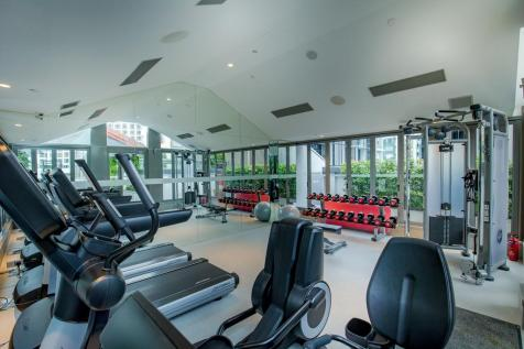 M Social Singapore - Gym