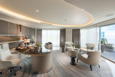 Conrad Manila Weddings Presidential Suite Study