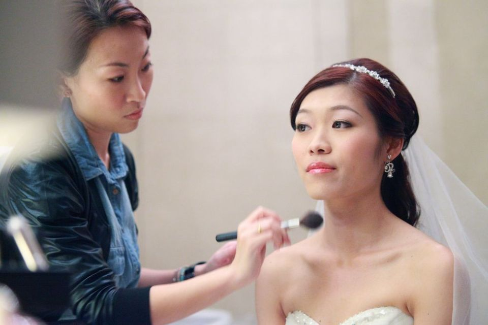 wedding makeup artists singapore TheLittleBrush Makeup