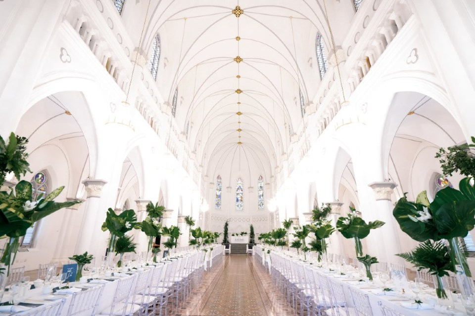 CHIJMES chapel wedding venues