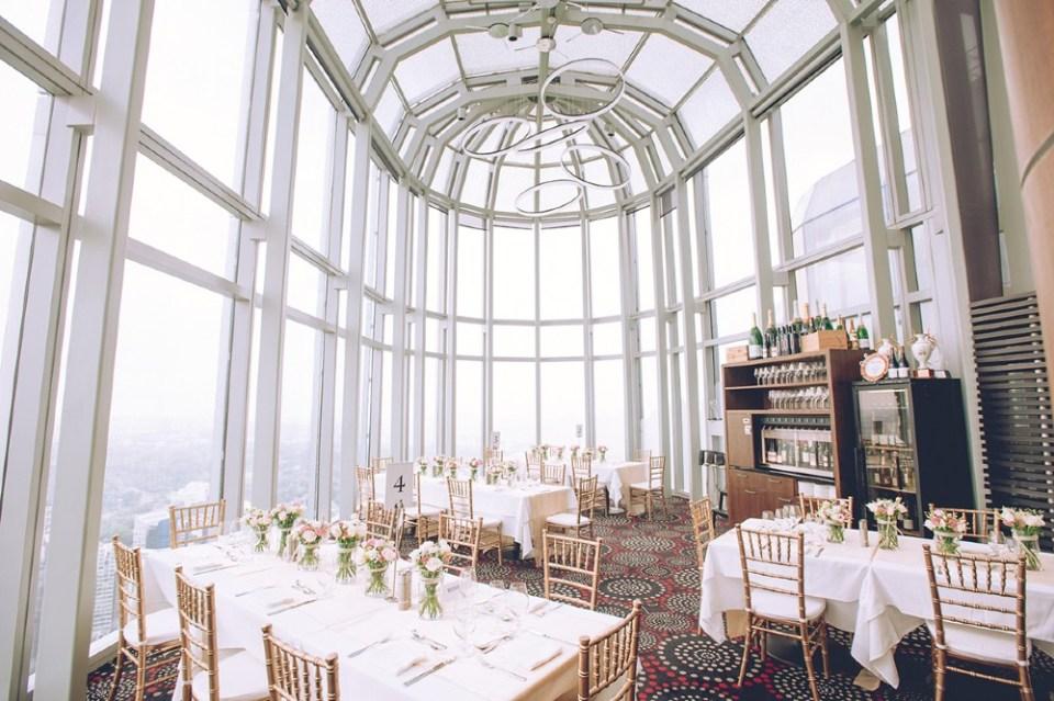 Salt Grill Sky Bar Skyline Wedding