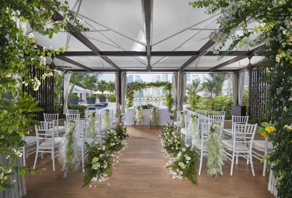 mandarin oriental wedding venues singapore