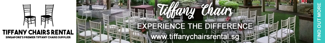 Tiffany Chairs Rental Banner
