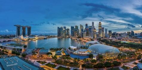 marina mandarin view