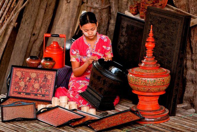 Lacquerware Bagan