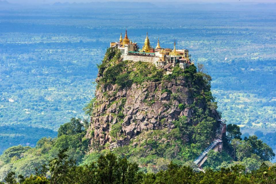 Mt Popa Myanmar