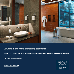 GROHE SPA Flagship Store Promotion