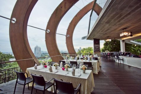 faber peak wedding venues singapore view