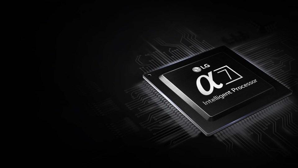 LG B8 TV Alpha 7 Intelligent Processor