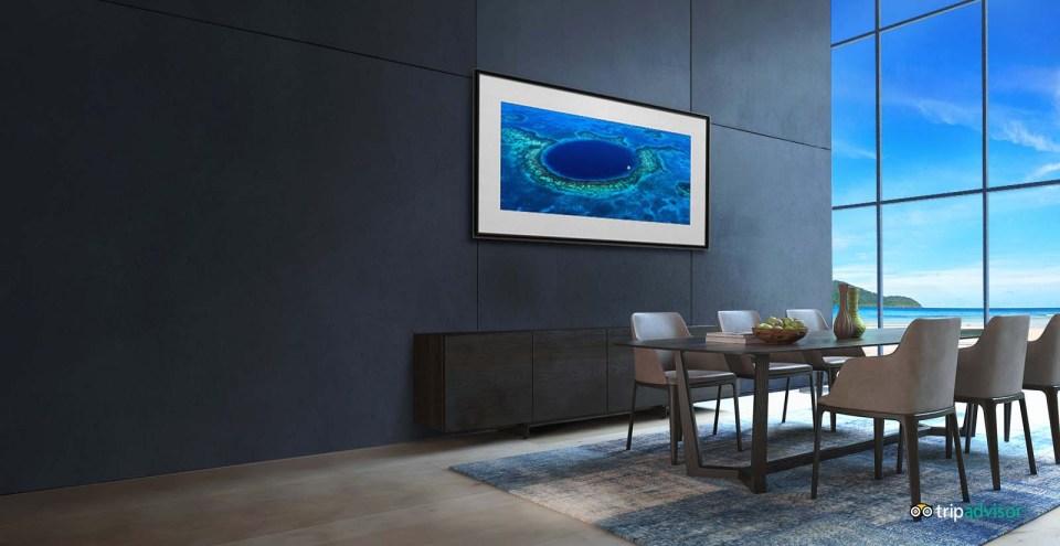 LG B8 TV Gallery Mode