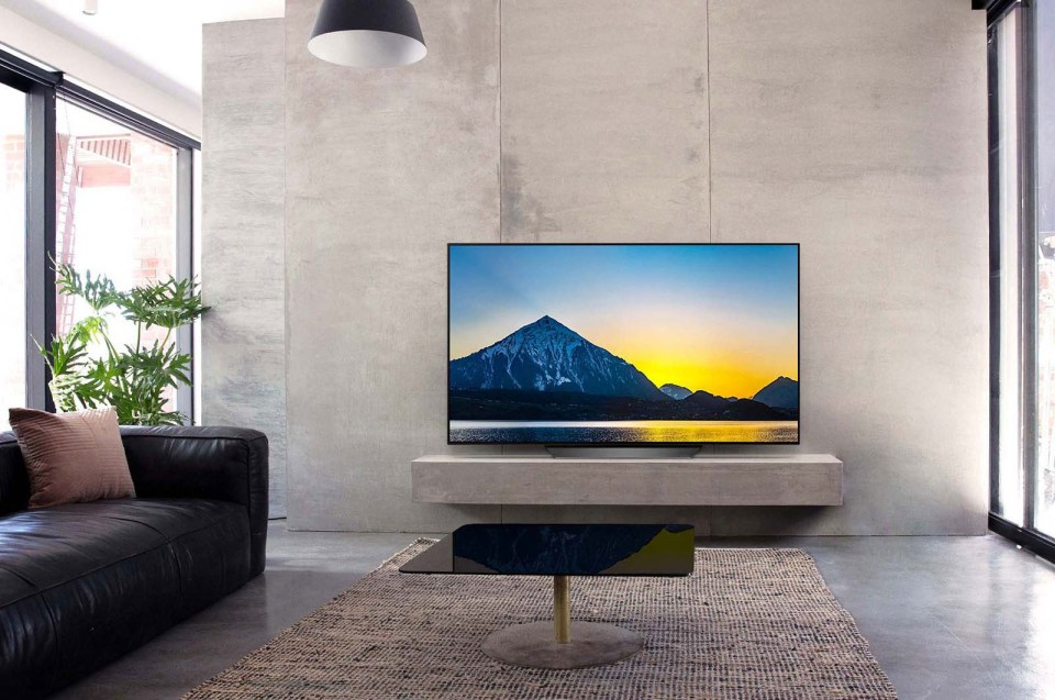 LG B8 OLED TV Ultra Slim Sleek Design