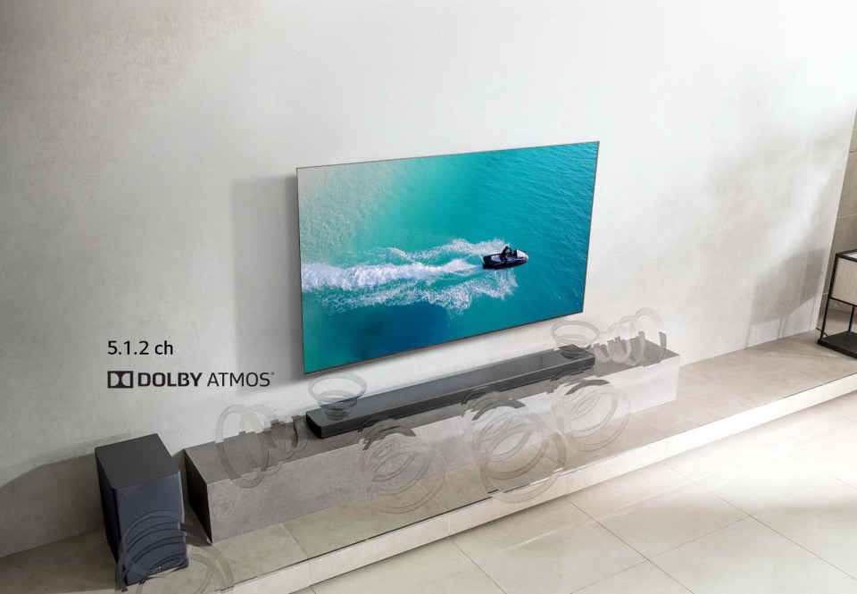 LG Dolby Atmos Cinematic Sound