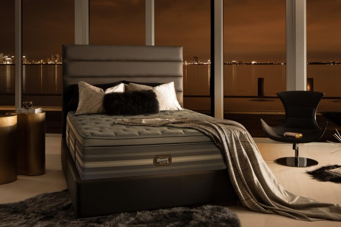 The Simmons Beautyrest Black Brilliance Mattress furniture singapore