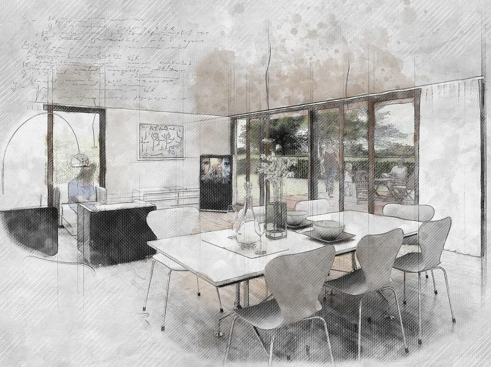 interior designer sketches singapore