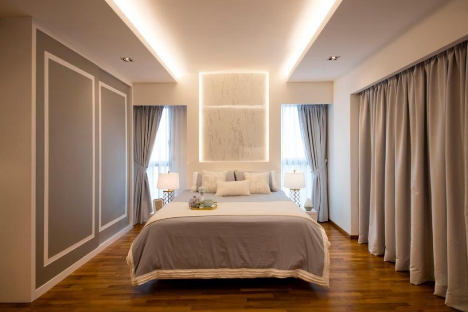 bedroom cove lighting singapore