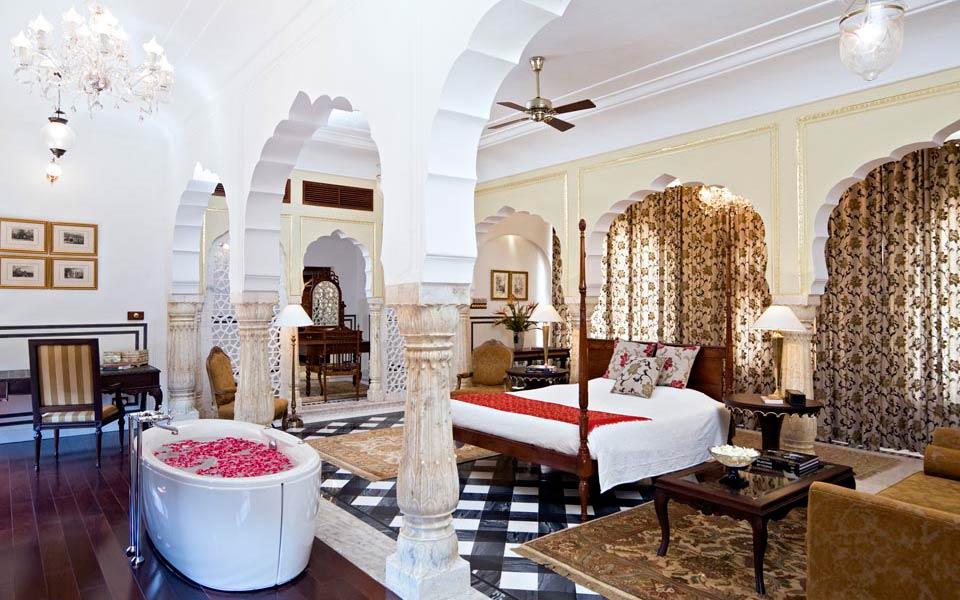 jaipur honeymoon samode palace