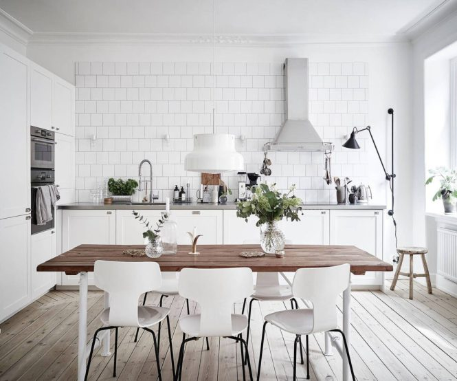 scandinavian modern kitchen