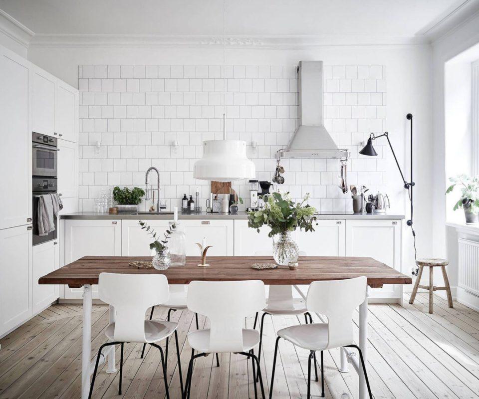 scandinavian modern kitchen