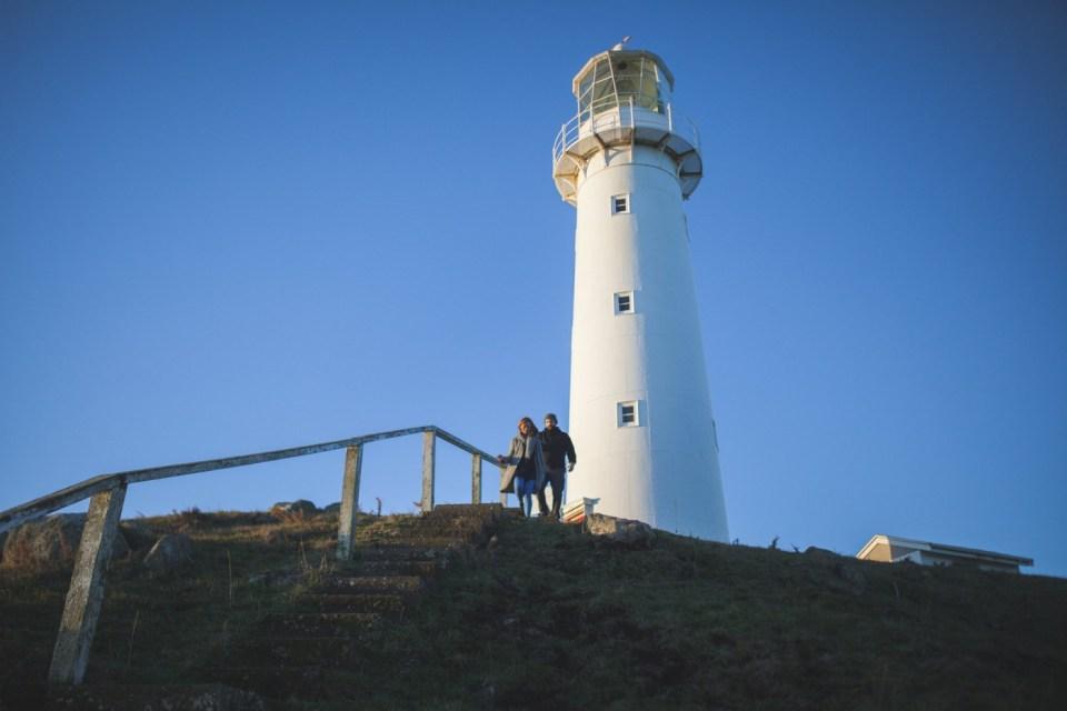 new zealand photoshoot location cape egmont lighthouse