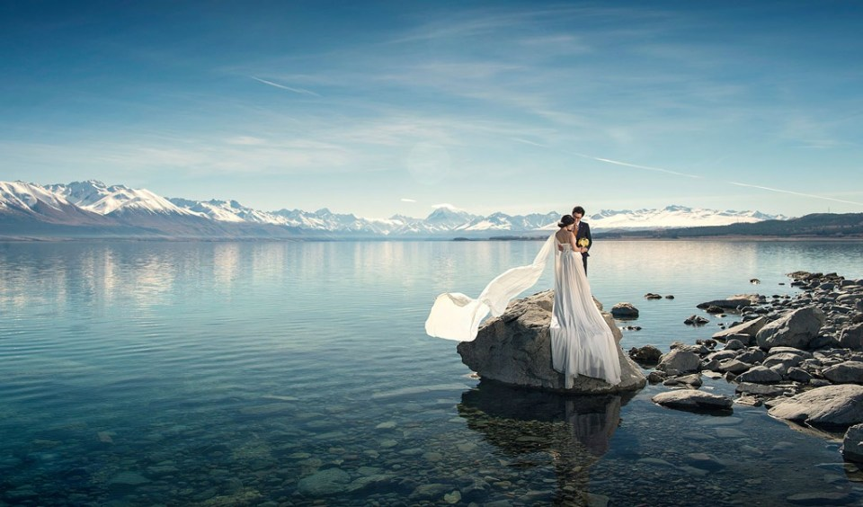 new zealand photoshoot location franz jocef glacier