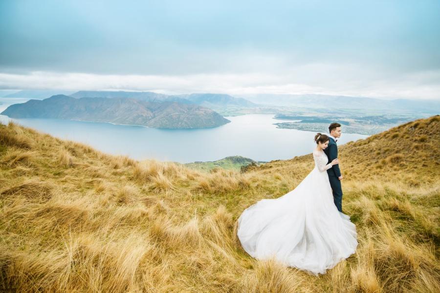 new zealand photoshoot location roy's peak