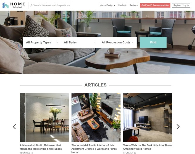 home renovation website singapore home by hitcheed
