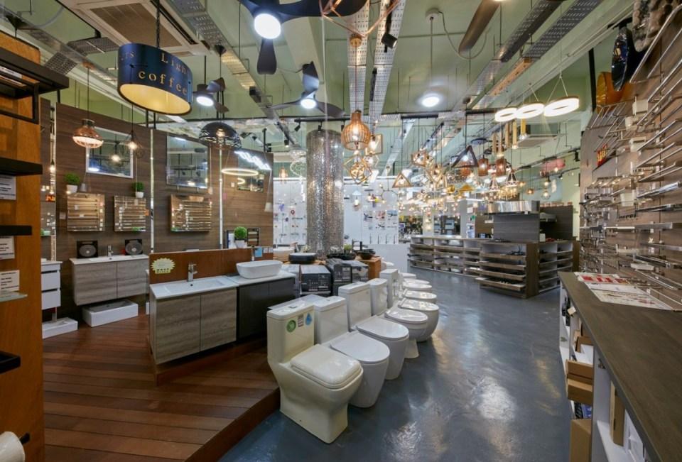 lighting shop singapore Lights N Showers