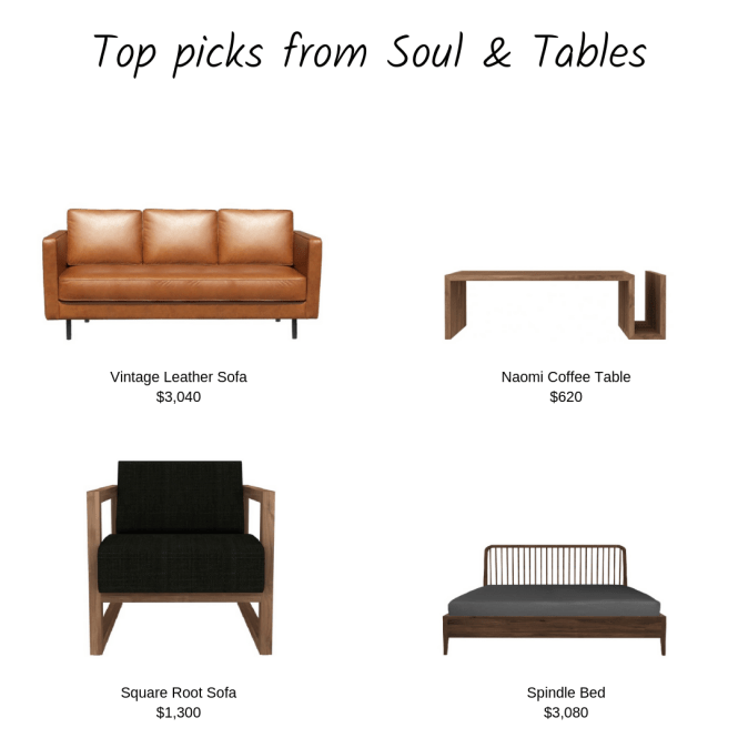 Online Furniture Stores Singapore Soul and Tables Top Picks