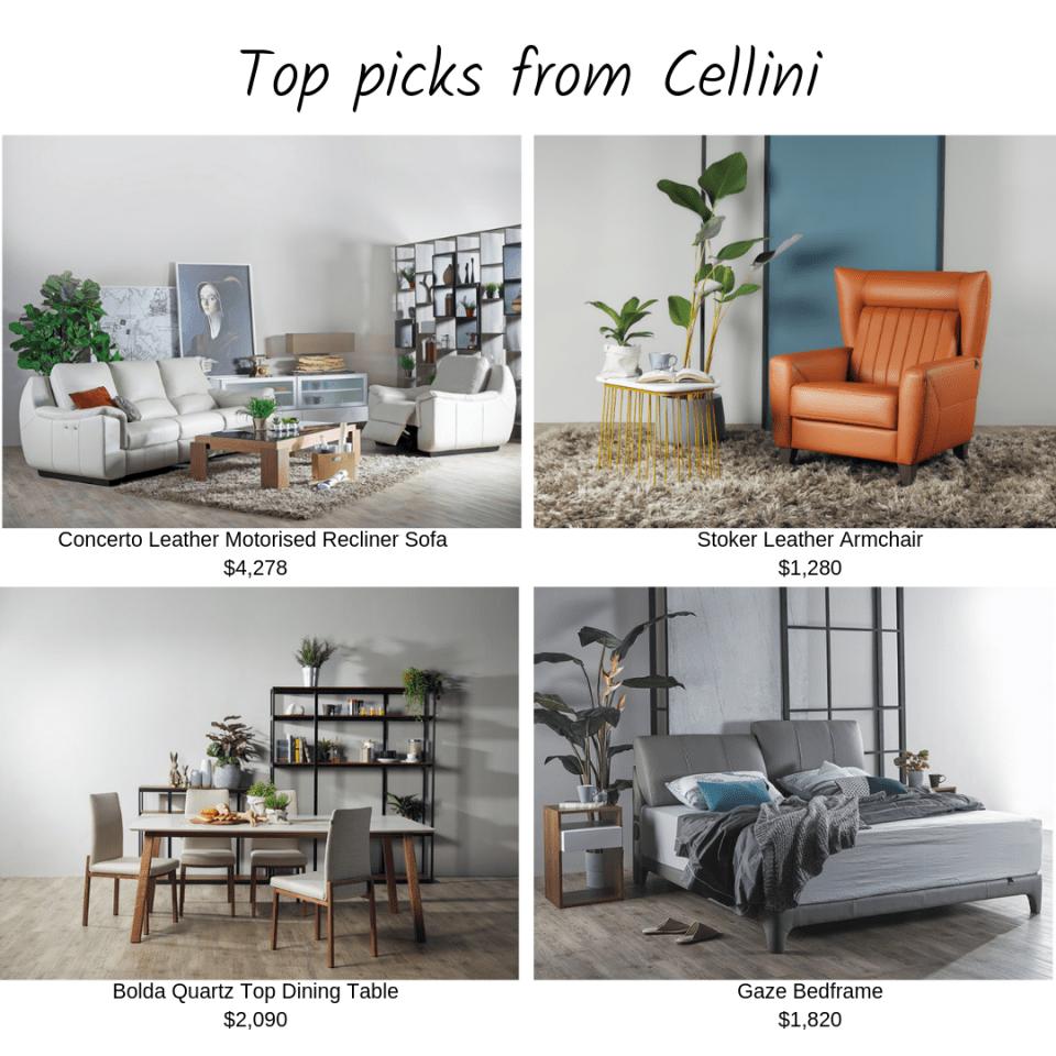 Online Furniture Stores Cellini Top Picks