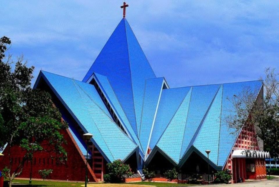 churches singapore Blessed Sacrament Church
