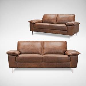 comfort design Prado 3-Seater Sofa - Full Leather