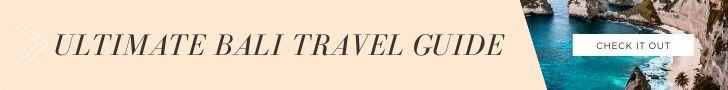 Bali Travel Guide Banner