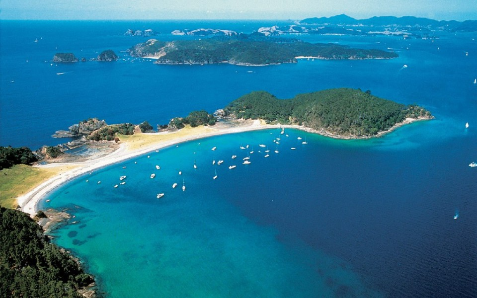 new zealand north island honeymoon northland & bay of islands