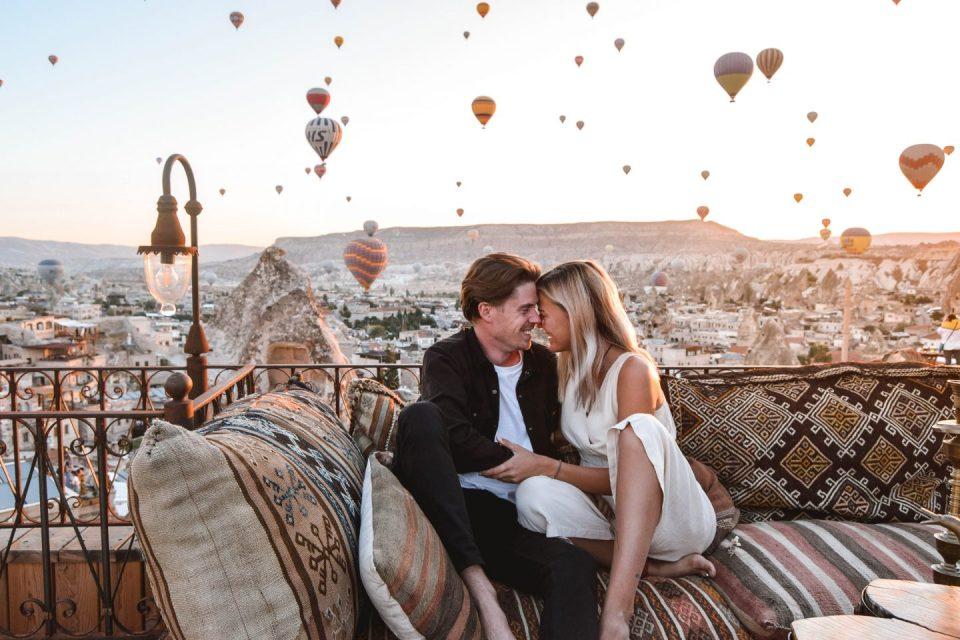 best honeymoon destination Cappadocia, Turkey