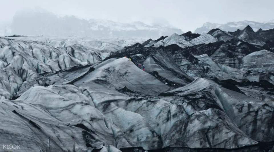 Iceland Blue Ice Adventure Glacier Hike and Ice Climbing Tour