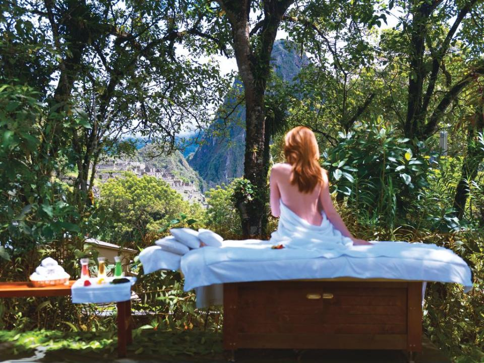 best honeymoon destination Belmond Sanctuary Lodge