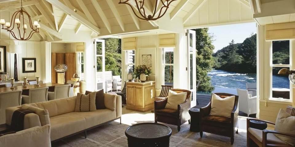 best honeymoon destination Huka Lodge