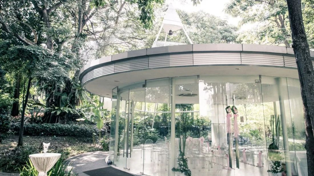 amara sanctuary resort sentosa glass pavilion wedding venues