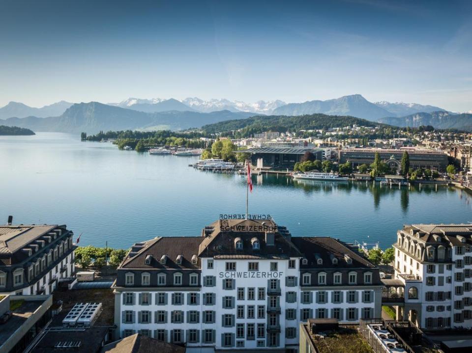switzerland honeymoon Hotel Schweizerhof Luzern