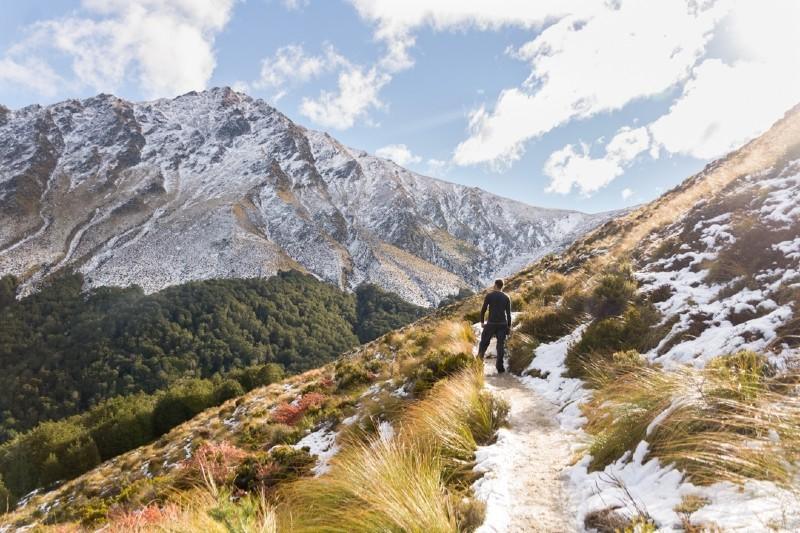 Ben Lomond Hike New Zealand South Island Itinerary