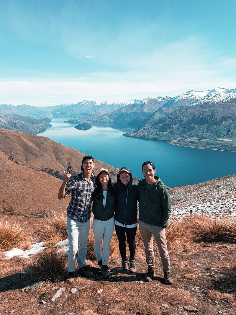 Isthmus Peak New Zealand South Island Itinerary
