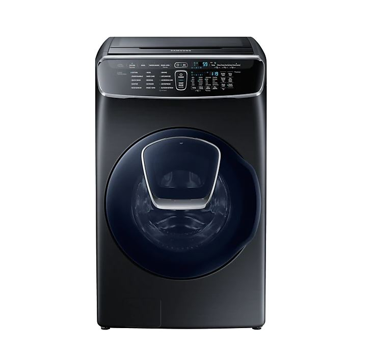 Samsung WR24M9940KV Flexwash 21kg Front Load + 3.5 kg Top Load Washer washing machine singapore