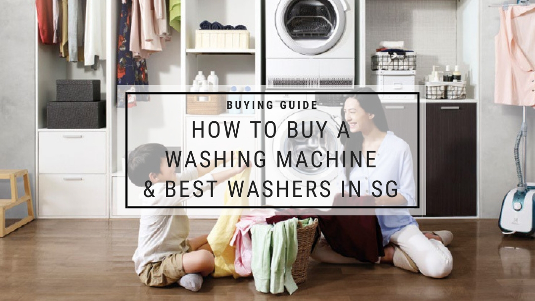 Washing Machine Singapore Buying Guide Blogpost Banner