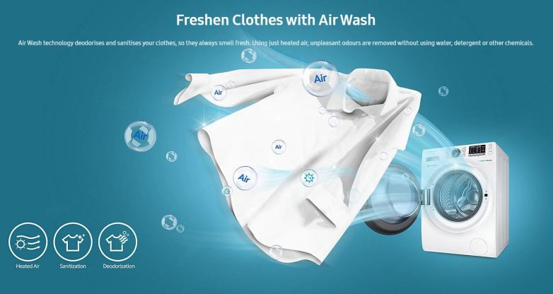 dry cleaning airwash clothes